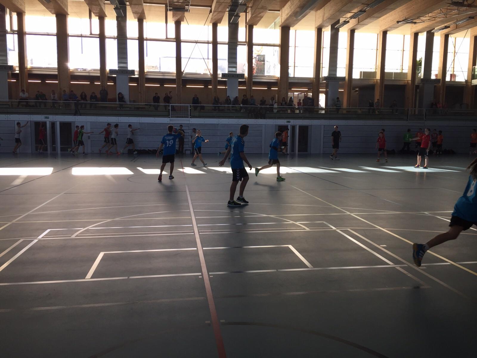 Handball Emme U15 : PSG Lyss (23:17)